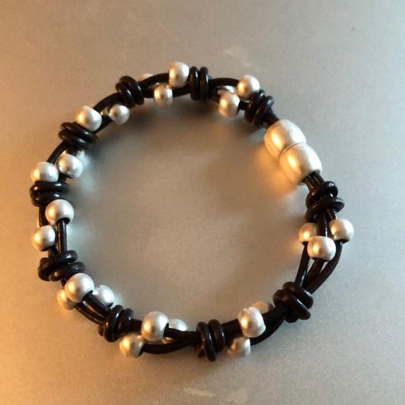 Merx Jewelry - Merx White Bead Bracelet